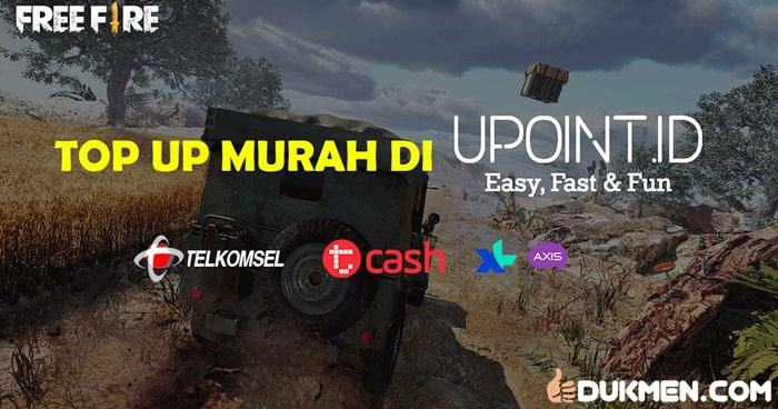 Cara Top Up Diamond Free Fire Murah di Upoint id