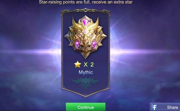 Tingkatan Mythic Mobile Legend