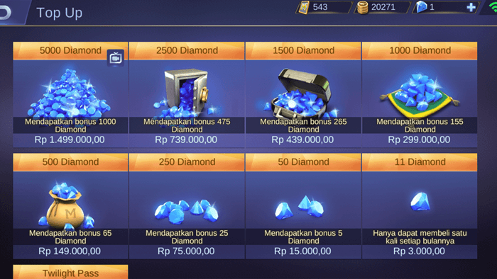 Cara Top Up Diamond Mobile Legend1 - 3 Cara Top Up Diamond Mobile Legends Dengan Pulsa All Operator