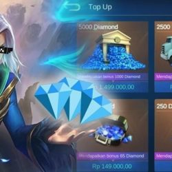 top up diamond mobile legends pulsa