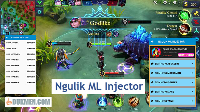 Cara Menggunakan Ngulik ML Injector Apk1 - Download Ngulik ML Injector Apk v1.0 Full Unlocked Mobile Legends Terbaru 2020