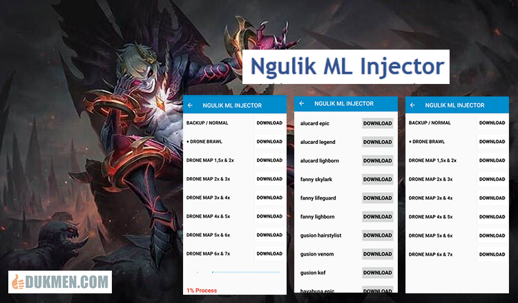 Fitur Ngulik ML Injector Apk1 - Download Ngulik ML Injector Apk v1.0 Full Unlocked Mobile Legends Terbaru 2020